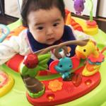 【フィッシャープライスジャンパルー】いつから使える?生後3ヶ月の我が子にジャンパルーⅡを購入してみた